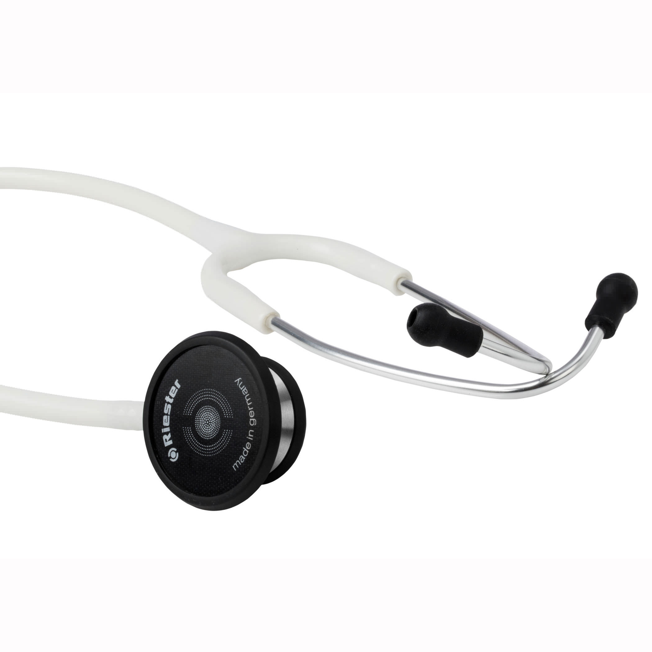 duplex 2.0, Stainless Steel, Black Stethoscope