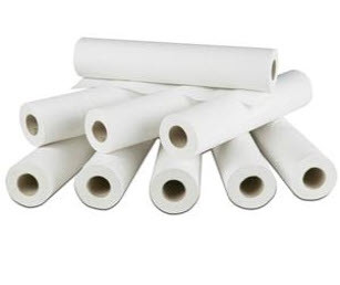 "NORTHWOOD COUCH ROLL WHITE 50M 20"" X 9"