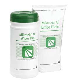 Mikrozid Jumbo Wipes x 200 (Tub)
