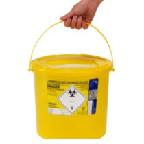 Sharpsguard 11.5L Sharps Bin x 1 yellow lid