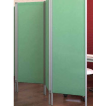 Three Panel Surgery Screen - Mint