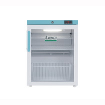 Lec PEGR82UK 82L Glass Door Pharmacy Fridge (502mm W x 660mm H x 540mm D)