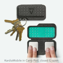 Carry Pod for AliveCor Kardia Mobile ECG