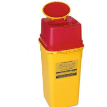 Sharps container 7.Ltr Bin - Multi-Safe - With innovative day lid and final closure.