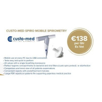 WEB 3 year Rental/Lease - custo spiro mobile Spirometer