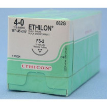 Ethilon 4/0 x 45cm x 12 (662G) + 19mm RC Needle