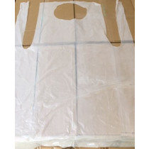 Disposable Aprons x 200 White 68.6cm(W) x 117cm(L)