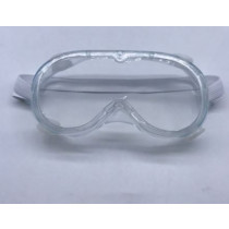 Clear One Size Safety Goggles - CE and EN 166 Standard