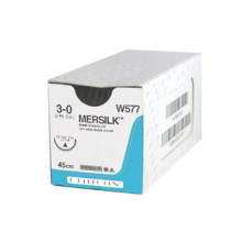 Mersilk 3/0 x 45cm x 36 (W328H) + 26mm RC Needle
