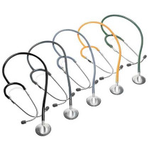 anestophon Black Single Head Stethoscope