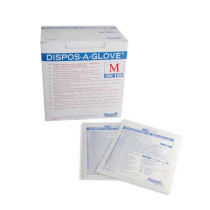 Disposaglove Sterile LF PF Gloves (Medium x 50 Pairs) - Suitable for low risk procedures only