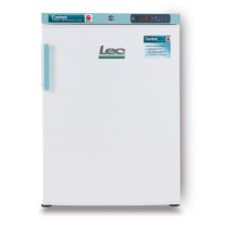 Lec PSRC158UK 158L Solid Door Control Plus Pharmacy Fridge (595mm W x 850mm H x 642mm D)