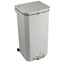 Sunflower 20L White Waste Disposal Bin