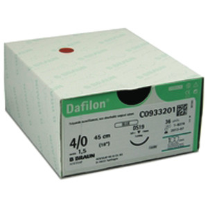 Dafilon 4/0 x 45cm x 36 (C0932205) + 19mm RC Needle