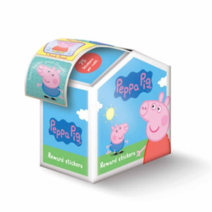 Peppa Pig - Reward Sticker Dispenser (75 stickes)