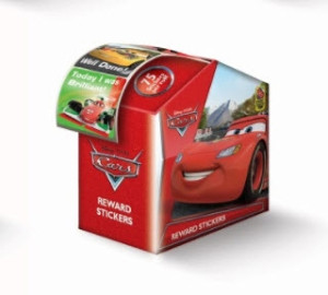 Cars - Reward Sticker Dispenser (75 stickers)