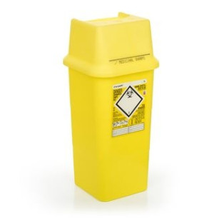 Sharpsafe Sharps Container 7 Litre Capacity - Single
