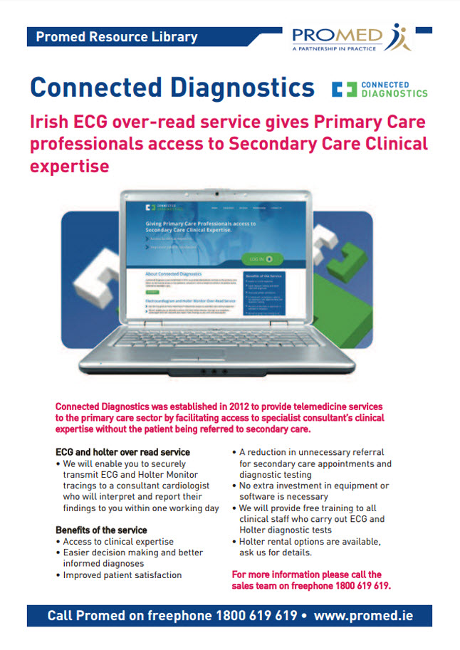 Connected Diagnostics: ECG over-read service