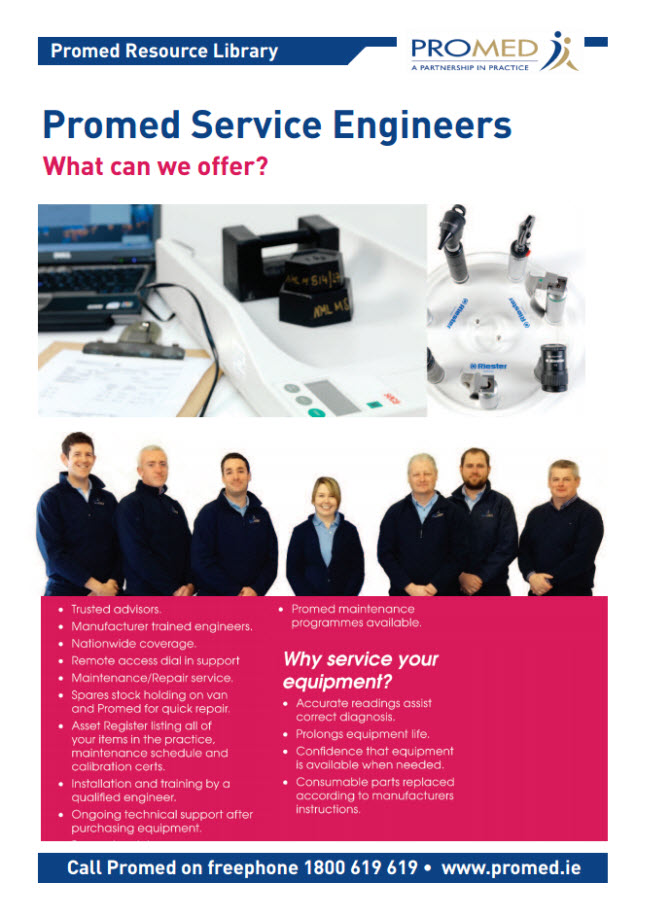 Promed Service Engineers: What can we offer?