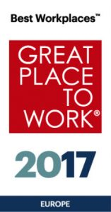 Great Place To Work Europe 2017