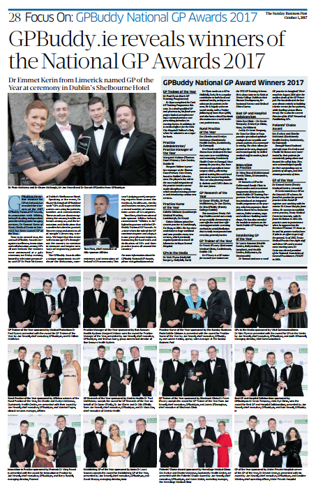 gp buddy sunday business post 2017