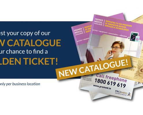 Promed Catalogue Golden Ticket Post