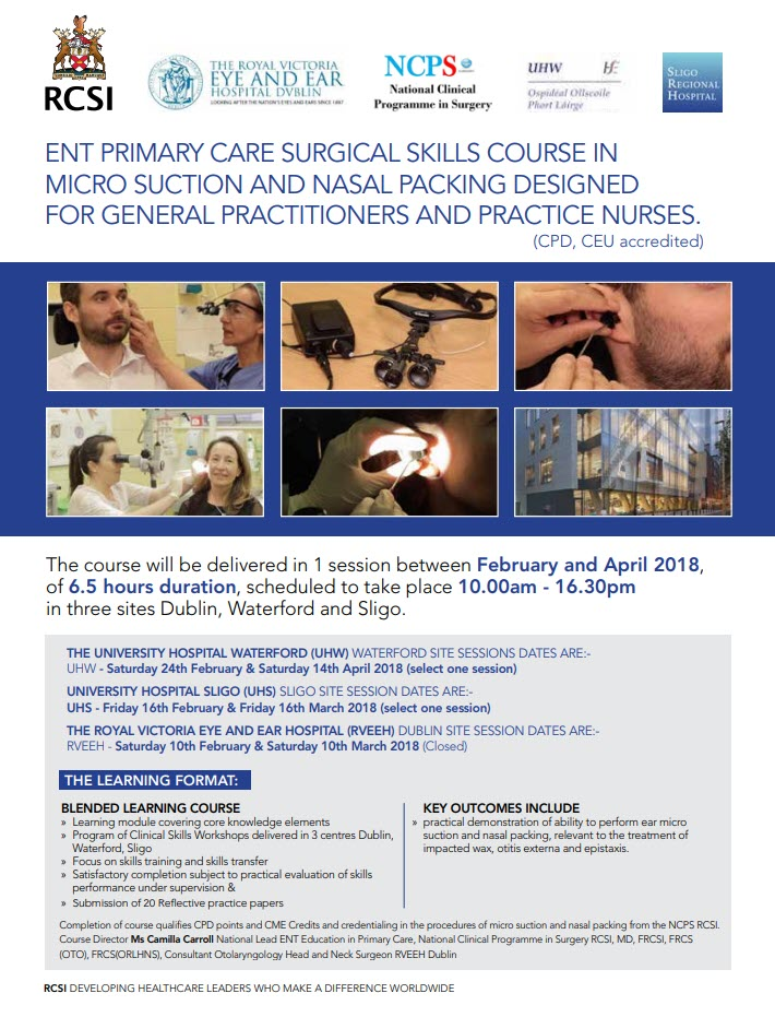 Interested in providing ENT services in Primary care