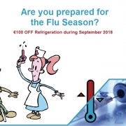 Pharmacy Refrigeration for the FLU SEASON