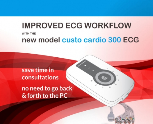 custo cardio 300 ECG improved work flow